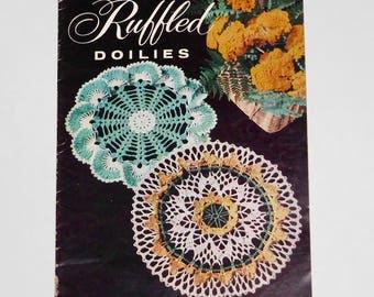 Ruffled Doilies 1950s Star Book No 143 Crochet Patterns