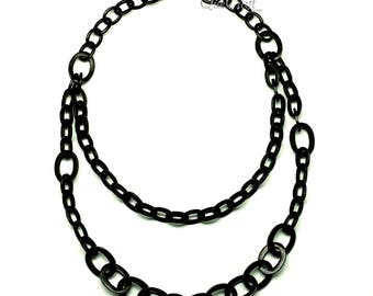 Horn Chain Necklace - Q12808