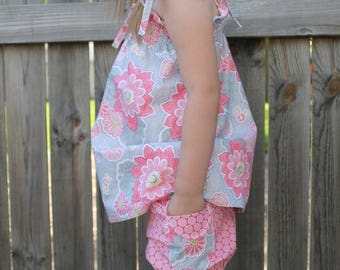 SALE Bubble Shorts - PDF Sewing Pattern Instant Download - Sizes 12 months - 6
