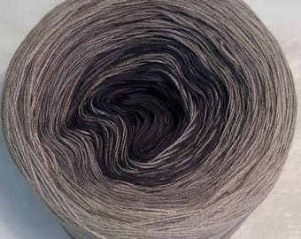 3-ply 100g light fingering gradient tied cotton Shadow Dancing v.2