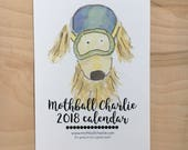 2018 Watercolor Wall Calendar - 5 x 7
