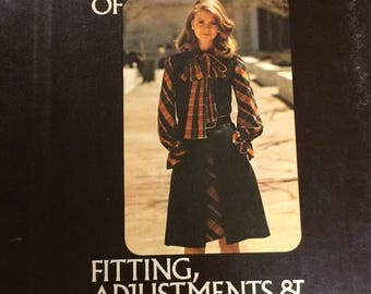 Christmas in July Vintage Vogue Sewing Book Of Fitting, Adjustments & Alterations First Edition
