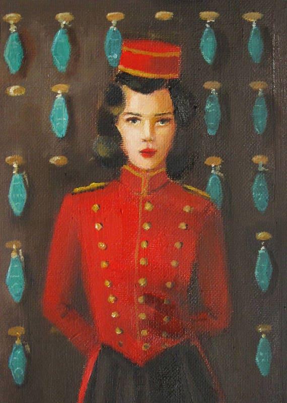 The Bell Hoptress. Art Print