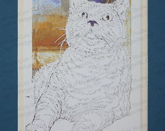 Cat Papercutting- Handcut original