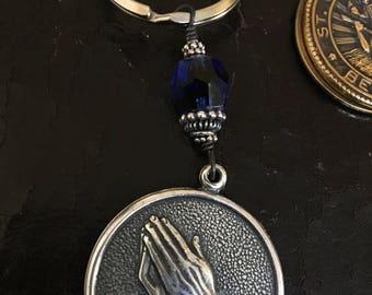 Serenity Prayer Key Chain with Prayer Inside