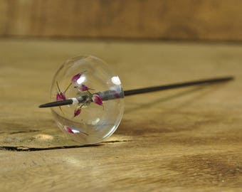 Featherweight Resin Support Spindle - Allium Flowers