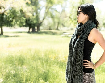 Scarf Sweater Pattern