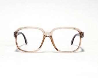 RODENSTOCK vintage eyeglass frame, mens eyeglasses, 80s eyewear, spring hinges,  exclusiv series in unworn deadstock condition.