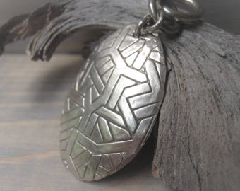 Silver Pendant Oval Pendant Mens Pendant Handmade Pendant  Item No.  2816 5990