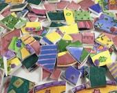 1.5 lbs. Vintage Sue Zipkin Broken China Mosaic Tiles