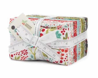 SALE 40 Fat Eighths - Juniper Berry fabric bundle Moda by BasicGrey