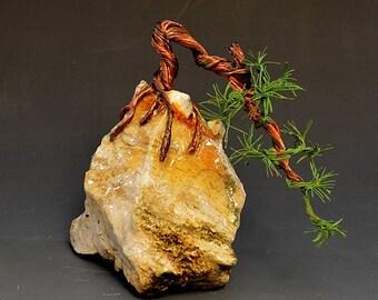 Bonsai Tree Art Sculpture  - 2303 - FREE SHIPPING