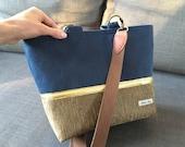 Large crossbody custom Maris Rae bag for Audrey
