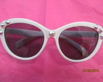Sunglasses  Bridal  Swarovski Crystals  Glittery and Glitzy  Aurora Borealis