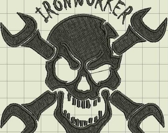 Ironworker Embroidery Design