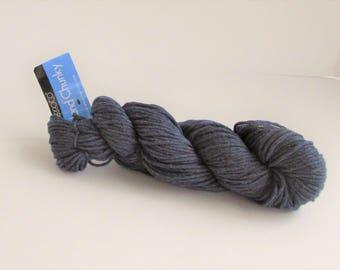 Yarn, Berroco yarn, Weekend Chunky 6976, blue, acrylic cotton, destash
