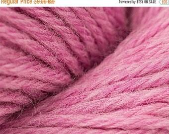 ON SALE Peony Pink Heather Cascade 220 Yarn 220 yards 100% Peruvian Highland Wool color 2449