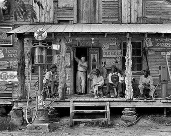 Country Store Gordonton North Carolina 1930s Photo