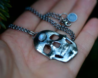 MADE TO ORDER Third Eye Necklace