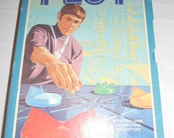 Vintage 3M Bookshelf Game Ploy Classic Strategy Game from 1962 100% Complete Avalon Hill