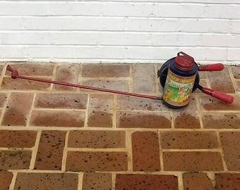Antique Vintage Bug Sprayer Antique Vintage Hudson Dus-Quik Sprayer Antique Flower Duster