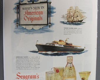 132  Seagram's Gin 1950