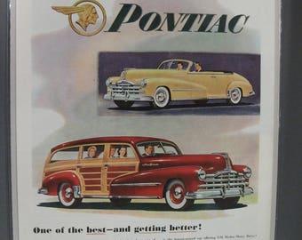 Pontica #120   Pontiac     Magazine Ad -  1948