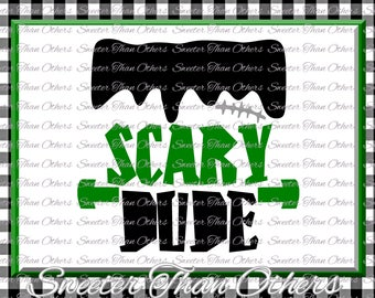 Halloween svg, Scary Dude svg, Frankenstein svg Dxf Silhouette Studios Cameo Cricut cut file INSTANT DOWNLOAD, Boy Halloween svg, Htv Scal