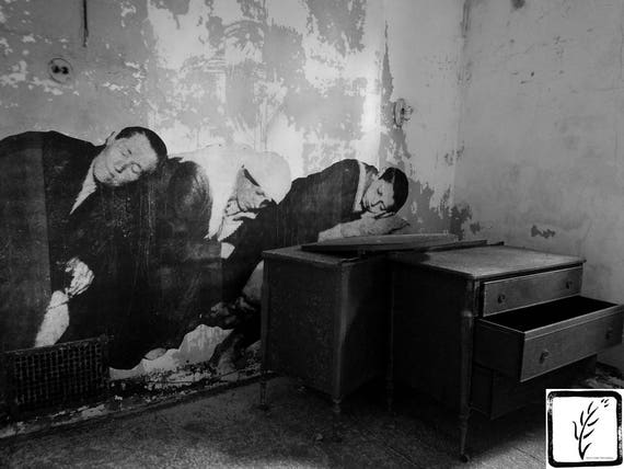 """Exhaustion,"" Ellis Island Immigrant Hospital, New Jersey, 2017."