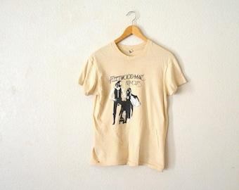 "1970's Fleetwood Mac ""Rumours"" T-Shirt"