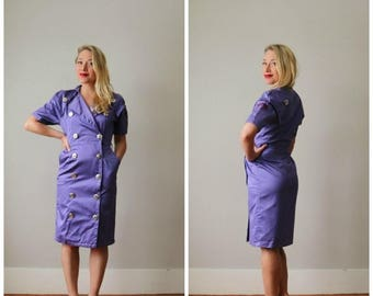 ON SALE 1990s Japanese Sailor Dress >>> Size Extra Small to Small