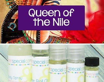 15% OFF NEW SCENTS Queen of the Nile Perfume, Perfume Spray, Body Spray, Perfume Roll On, Perfume Sample Oil, Dry Oil Spray, 5 Product Choic