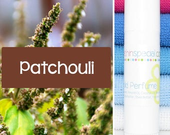 Patchouli Solid Perfume Stick, 1/2 oz Tube, Purse Perfume, Travel Perfume, Perfume Solid, Natural Perfume, Perfume Stick, Patchouli Solid