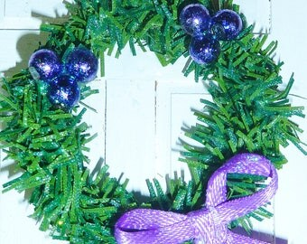 "1"" Christmas Wreath #8"