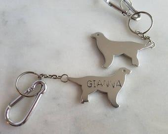 Personalized Dog Key Chain, Bottle Opener, Custom Gift, Dog Lover, Unisex, Gift for Man, Gift for Dad