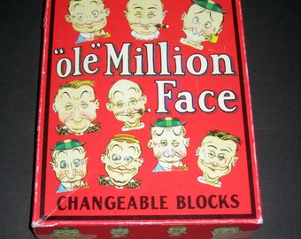 Ole Million Face - 1998 -  Changeable Block Puzzle / Game for Altering