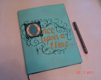 Once Upon a Time Composition Notebook Cover