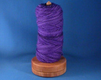 Deluxe Sycamore Yarn/Thread Holder - Natural Wax Finish