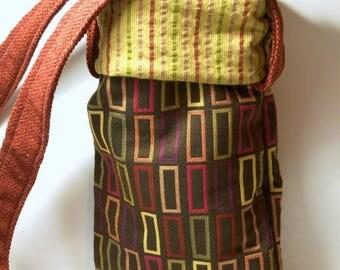 On Sale Handbag Recycled Handbags Fabric Purse Small Tote Gift Ideas Fabric Handbag Hobo Bags Small Purse