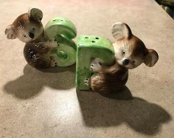 Sweet Little Koala Salt and Pepper Shakers