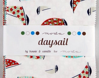 Daysail  Charm Pack by Bonnie and Camille for Moda