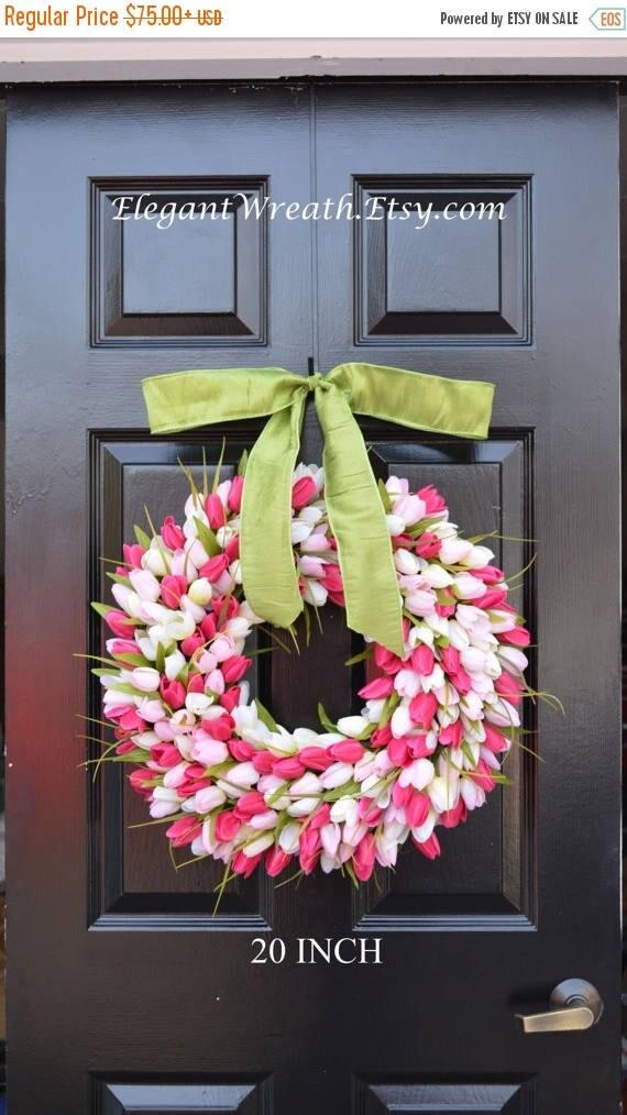 SUMMER WREATH SALE Mother's Day Gift- Mother's Day Wreath- Gift for Her- Mother's Day Bouquet- Mothers Day Flowers- Silk Spring Wreath- Spri