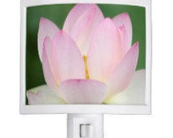 Pink Lotus Night Light