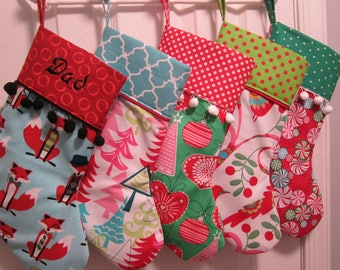 Christmas Stockings Custom Personalized, Design Your Own
