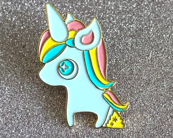 Unicorn Poop Limited Edition Enamel Pin