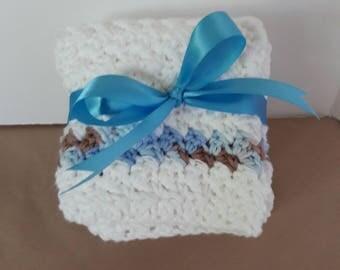 Crochet Dishcloths,Crochet Washcloths,Handmade Dishcloths, Handmade Washcloths,Gift for Home,Crochet Facecloths,Housewarming Gift,Gift