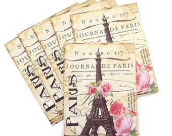 Eiffel Tower Note Cards, Blank Note Cards, Paris Note Cards, Retro Birthday, Bridal Shabby Vintage, French Tea Party, Handmade Australia