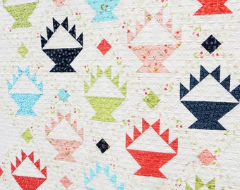 Berry Baskets Quilt Pattern (Paper)