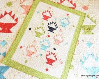 Berry Baskets Mini Quilt Pattern (PDF)