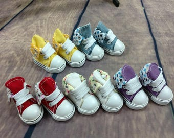 Shoes for BJD Yosd 1/6  or similar size doll